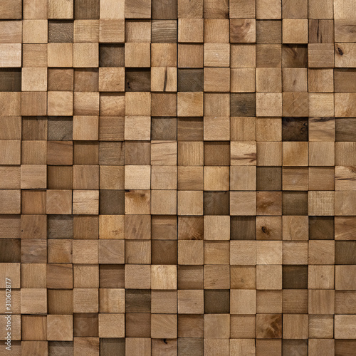 Tapety do aneksu kuchennego  mozaika-z-drewnianych-kwadratow-tlo