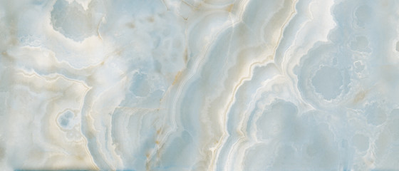 Polished onyx marble with high-resolution, aqua tone emperador marble, natural breccia stone agate surface, modern Italian marble for interior-exterior home decoration tile and ceramic tile surface.