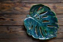 Beautiful Green Large Ceramic ...