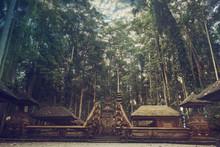 Old Abandoned Hindu Temple At ...