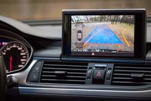 Interior Of Premium Car With R...