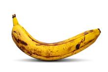 Overripe Banana. Yellow Banana...