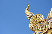 Golden Dragon Statue In Bangko...