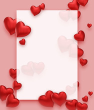 Frame With Hearts