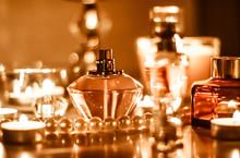 Perfume Bottle And Vintage Fra...