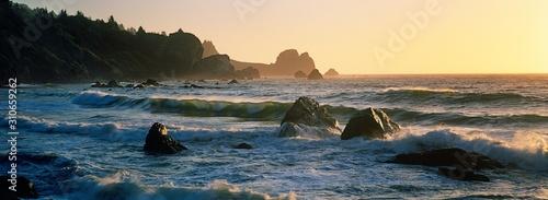 Fototapeta Surf at sunset obraz