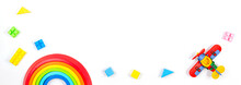 Baby Kids Toys Banner Backgrou...