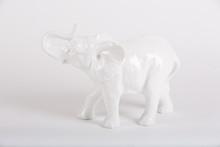 Porcelain Figure Of An Elephant
