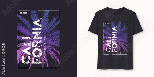 Obraz California San Francisco stylish graphic t-shirt vector design, poster, typography - fototapety do salonu