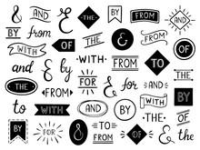 Vintage Lettering Ampersand An...
