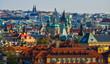 Cityscape of Prague, Czechia