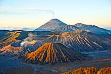 The Bromo Volcano On The Islan...