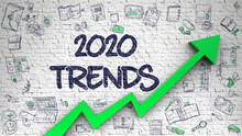 Brick Wall With 2020 Trends In...