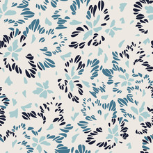 Abstract Floral Seamless Patte...