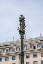 Austria, Marian Column On Am Hof Square