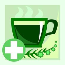Herbal Tea. Vector. Herbal Tea...
