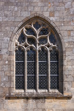 Pointed Ogive Arch With Gothic...