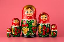 Russian Folk Wooden Doll