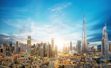 Amazing Panoramic View On Duba...