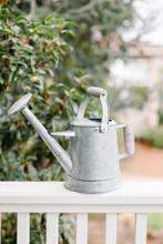 Old Metal Watering Can