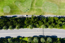 Aerial View Of The Golf Course...