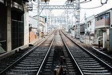 Railway In Kyoto,Japan