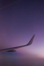 Sunset Through The Window Plane