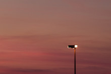 Pink Sunset Lamp