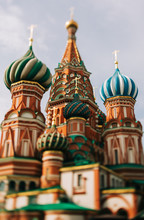 St. Basil's Cathedral, Moscow ,Russia