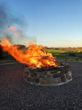 Large Firepit