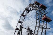 Vienna Carousel Against The Blue Sky