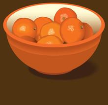 Orange Bowl Of Oranges