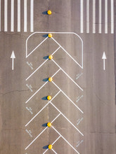 Road Marking Pattern, Aerial V...