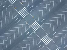 Road Marking Pattern, Top Aeri...