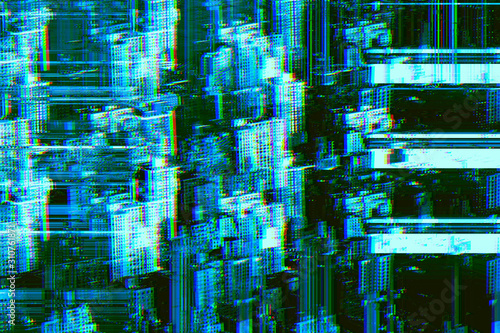 Abstract city - 310761871