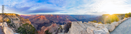 Fototapeta Beautiful sunrise landscape of the Grand Canyon National Park obraz