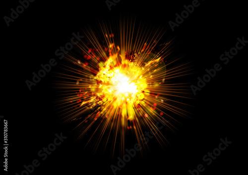 explosion images 03 Fototapet