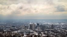 Overlooking Salt Lake City On ...