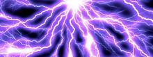 抽象的な紫色の光線