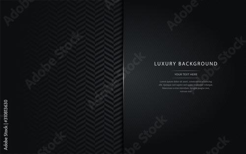 Leinwand Poster  Luxury black background.
