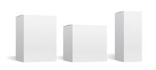 Packaging Box Mockup Vector Se...