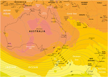 Imaginary Weather Map Of Austr...