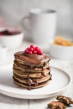 Pile De Pancakes Pâte à Tart...