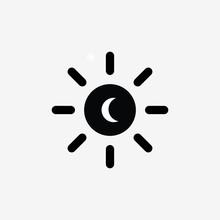 Setting Dark Mode Sign Icon De...