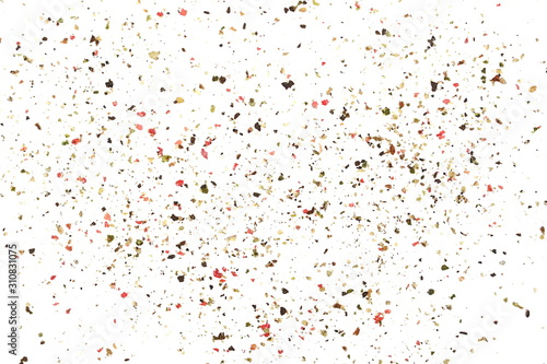 colorful-minced-ground-pepper-mix-pile-isolated-on-white-background-top-view