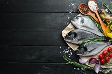 Raw Dorado Fish With Lemon And...