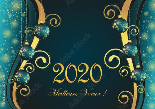 Fototapeta 2020 – Meilleurs vœux obraz