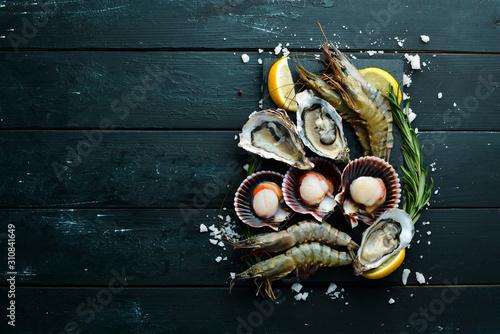 Seafood Canvas-taulu