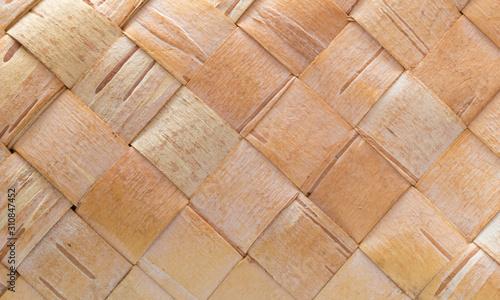 Fotomural  Fundo e textura com casca de árvore trançada