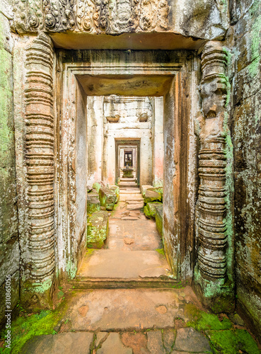 Photo Preah Khan Temple, Angkor Thom, Siem Reap,  Cambodia.